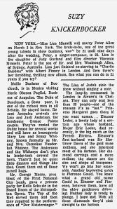 Eleanor Curran - The Montreal Gazette - 21st February 1967