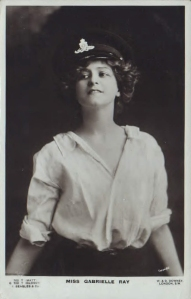 "Gabrielle Ray as ""Susan"" in ""Lady Madcap"" 1905  (J. Beagles G 700 T)"