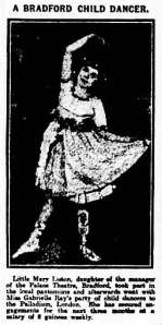 Mary Liston - The Yorkshire Evening Post - Tuesday 6th April 1920