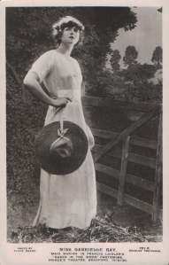 """Gabrielle Ray as """"Maid Marian"""" in Babes in the Wood, 1910 / 20  (J. Beagles 701 R)"""