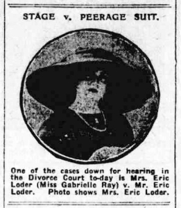 Gabrielle Ray - Birmingham Gazette - Thursday 23 July 1914