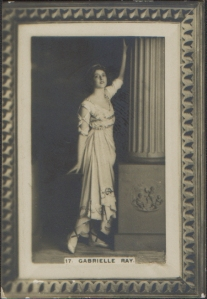 Gabrielle Ray (Cigarette card No 17)