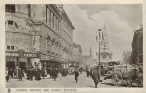 Strand and Gaiety Theatre (Tuck 5612) 1907
