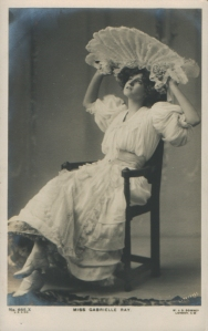"Gabrielle Ray as ""Susan"" in ""Lady Madcap"" 1905Gabrielle Ray (J. Beagles 665 X)"