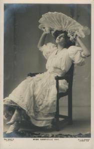 "Gabrielle Ray as ""Susan"" in ""Lady Madcap"" 1905Gabrielle Ray (J. Beagles 665 X)"