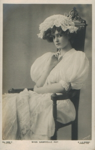 "Gabrielle Ray as ""Susan"" in ""Lady Madcap"" 1905 (J. Beagles 665 Y)"