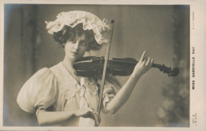 "Gabrielle Ray as ""Susan"" in ""Lady Madcap"" 1905  (J. Beagles 677 S)"