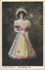 "Gabrielle Ray as ""Susan"" in ""Lady Madcap"" 1905  (Philco 2067 B)"