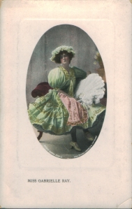 "Gabrielle Ray as ""Susan"" in ""Lady Madcap"" 1905  (Philco 2087 D)"
