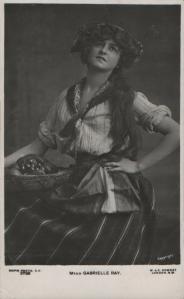 Gabrielle Ray (Rapid 3726) 1910