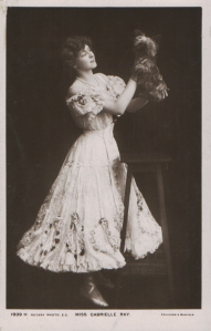 """Gabrielle Ray as """"Susan"""" in """"Lady Madcap"""" 1905 (Rotary 1939 H)"""