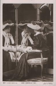 Gabrielle Ray (Rotary 391 Y) 1908