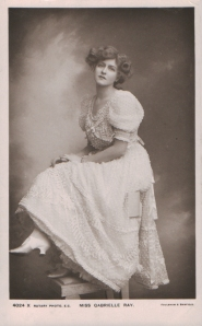 "Gabrielle Ray as ""Lady Dorothy Congress"" in ""The Little Cherub"" 1906 (Rotary 4024 X)"