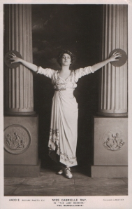 "Gabrielle Ray as ""Egle"" in ""The Lady Dandies"" 1907 (Rotary 4403 E)"