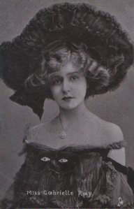 "Gabrielle Ray as ""Thisbe"" in ""The Orchid"" 1903 (Tuck 543)"