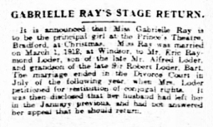 Babes in the Wood - Sheffield Evening Telegraph - Monday 20 October 1919