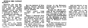 The Canary Diamond - The Argus (Melbourne, Vic. wednesday 6 June 1956