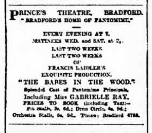 Babes in the Wood - Yorkshire Evening Post - Friday 20 February 1920
