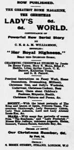 Christmas Advertisement - Bucks Herald - Saturday 14 December 1907