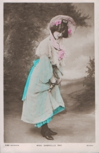 "Gabrielle Ray as ""Thisbe"" in ""The Orchid"" 1903 (Davidson 1130)"