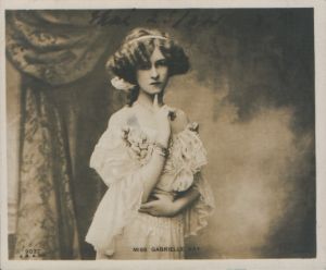 Gabrielle Ray - Bijou Post Card (J. Beagles 9027)  1904