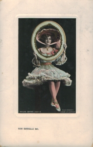 """Gabrielle Ray as """"Thisbe"""" in """"The Orchid"""" 1903  (Philco 2087 B)"""