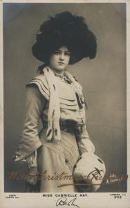 Gabrielle Ray (Rapid 2112) 1905