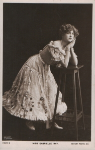"""Gabrielle Ray as """"Susan"""" in """"Lady Madcap"""" 1905Gabrielle Ray (Rotary 1905 E)"""