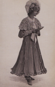 """Gabrielle Ray as """"Thisbe"""" in """"The Orchid"""" 1903 (Tuck 6553)"""