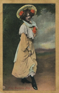 "Gabrielle Ray as ""Thisbe"" in ""The Orchid"" 1903 (Valentine Series)"