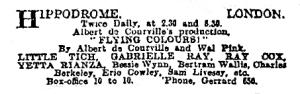 Flying Colours - The Observer - Sunday 17th September 1916