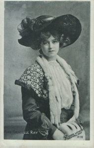 Gabrielle Ray (Enamelette A 116) 1907