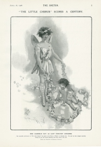 Gabrielle Ray - The Little Cherub - The Sketch - Wednesday 18th April 1906