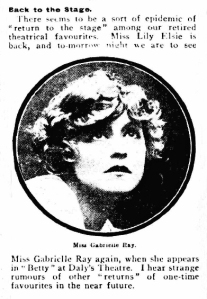 Betty - The Daily Mirror - Thursday 28 October 1915