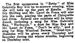 Betty - The Observer - Sunday 24 Oct 1915
