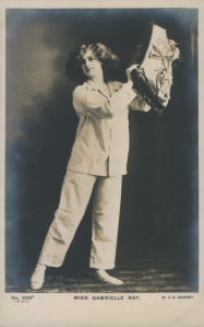 """Gabrielle Ray as """"Thisbe"""" in """"The Orchid"""" 1903 (J. Beagles 329 T)"""