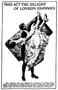 Lady Madcap - Syracuse Daily Journal -24th November 1905