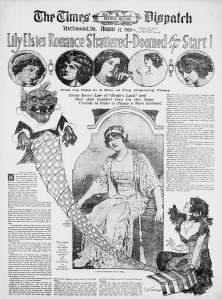 Lily Elsi's Romance Shattered - The Times Dispatch - 31st August 1913