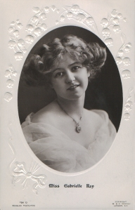 Gabrielle Ray (J. Beagles 764 O) 1908