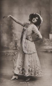 "Gabrielle Ray as ""Frou Frou"" in ""The Merry Widow"" 1907"