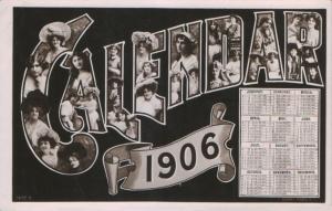 Gabrielle Ray (Rotary 5452 B) 1906 Calendar