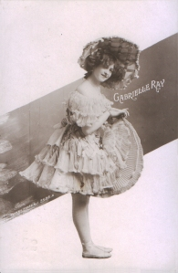 "Gabrielle Ray as ""Dolly Twinkle"" in ""The Casino Girl"" 1900 (Rotary 3568 A)"