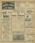 The Dollar Princess – February 1909 – Page 1 –Cast