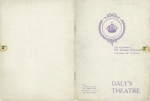 The Dollar Princess Programme - 25th September 1909 - Cover