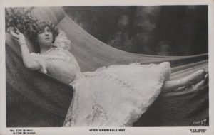 "Gabrielle Ray as ""Susan"" in ""Lady Madcap"" 1905 (G 729 M)"
