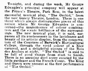 The Orchid - Western Daily Press - Monday 09 May 1904a