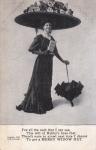 Fig. 1. Merry Widow parody postcard c 1908