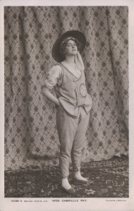 "Gabrielle Ray as ""So-Hie"" in ""See See"" 1906 ( Rotary 4038 U)"
