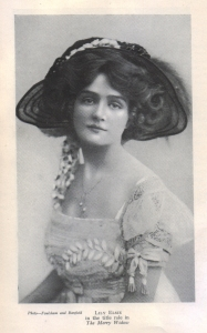 "Lily Elsie as ""Sonia"" - The Merry Widow - 1908"