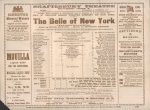 The Belle Of New York – 1899(cast)